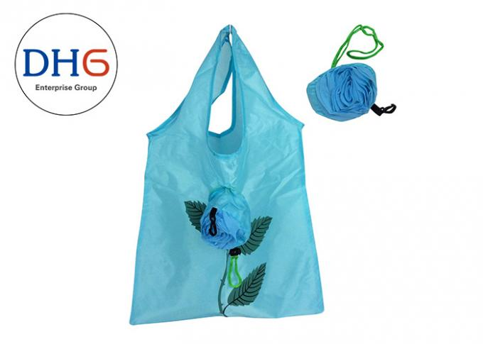 Foldable Polyester Bag Eco Friendly Recyclable Material Long Durability High Strength