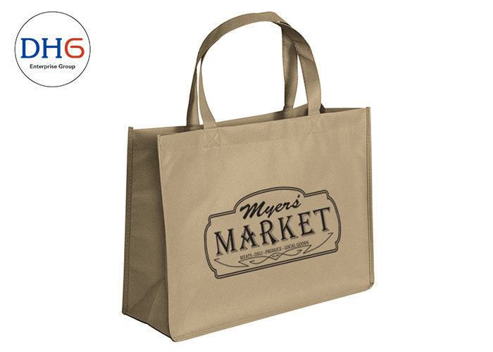 Fashionable Custom Non Woven Tote Bags Medium Size Visually Recognisable