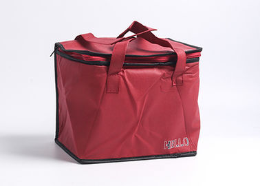 China Printed Insulated Cooler Bags Soft Sided Refrigerated Easy Cleaning Long Lifespan distributor