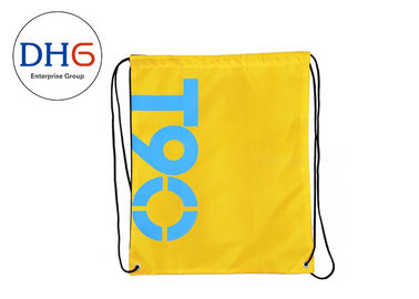China Custom Drawstring Bag Backpack , Promotional Cool String Backpacks With PP Rope factory