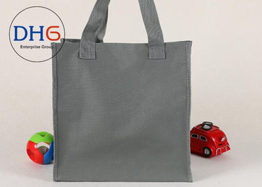 China Grey Oxford Fabric Bag , Oxford Tote Bag Premium Water Resistant Travel Insulated factory