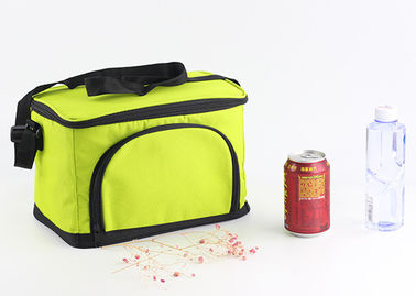China Custom 600D Large Insulated Cooler Bags Zippered Closure Food Storage Foldable distributor