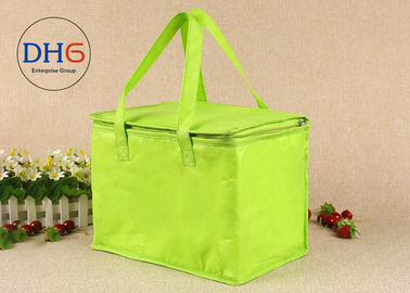 China Personalized Insulated Lunch Bags Keep Freshing Non Woven Aluminum Foil distributor