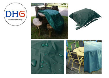 China Pretty Green Universal Grill Covers , Custom BBQ Covers Picnic Application Reliable factory