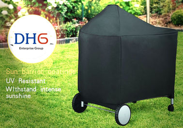 China Oversized Canvas Outdoor BBQ Accessories Cover 24 Inch Luxury Heat Resistant distributor