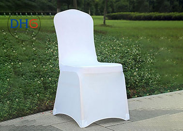 China Fire Retardant White Universal Chair Covers Anti Static Soft Touching Insulated factory