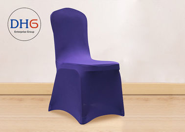 China Ballroom Spandex Chair Covers Lycra Silver Durable Comprehensive Protection factory