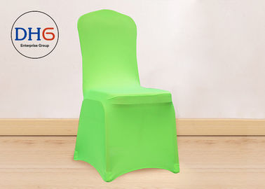 China Fitted Colorful Banquet Chair Covers , Event Chair Covers Wrinkle Resistant Convenient factory