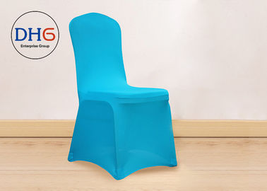 China Fabric Dining Universal Chair Covers 160GSM Four Sides Elastic Non Deformation distributor