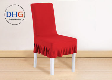 China Spandex Universal Chair Covers , Elegant Wedding Seat Covers  Regular Size distributor