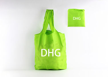 China Green Color Custom Logo Foldable Reusable Tote Bags For Promotional Use distributor