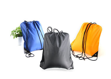 China Fold Personalized Lightweight Drawstring Bag Backpack Silk Screen Printing distributor
