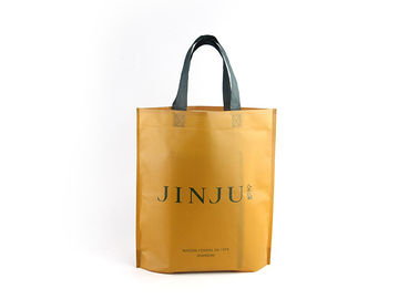 China Custom Logo Small Non Woven Tote Bags , Durable Laminated Grocery Tote Bags factory