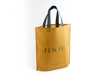 China Ultrasonic Recyclable Personalized Non Woven Tote Bags 80gsm With Custom Logo factory