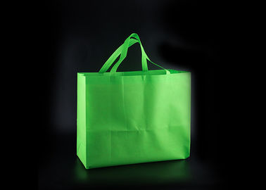 China Plain Custom Non Woven Tote Bags For Supermarket / Non Woven Grocery Bag factory