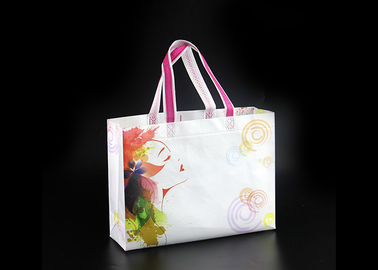 China Eco Friendly Foldable Non Woven Tote Bags With Logo , Non Woven Carry Bags factory